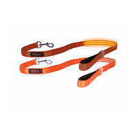 DOGlite LED Dog Leash - Orange Sunset Medium