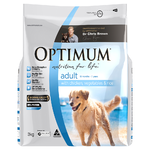 Optimum Adult All Breeds Dog Food with Chicken, Vegetables and Rice 3kg
