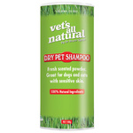 Vet's All Natural Dry Pet Shampoo 100g