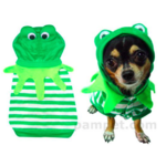 Dog Costume - Frog Size 6