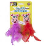 Fat Cat Cat Toy - Fluffy Feathers