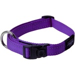Rogz Fanbelt Collar Large Purple