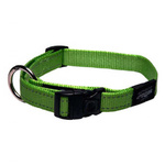 Rogz Fanbelt Collar Large Lime