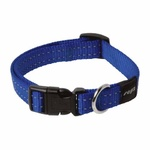 Rogz Snake Collar Medium Blue