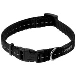 Rogz Nitelife Collar Small Black