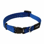 Rogz Nitelife Collar Small Blue