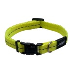 Rogz Nitelife Collar Small Dayglow Yellow