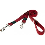 Multi-Purpose Dog Lead - Red - Large / Fanbelt