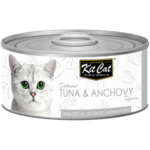 Kit Cat Tuna & Anchovy Cat Food 80gm