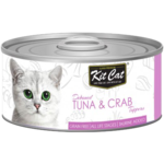 Kit Cat Tuna & Crab Cat Food 80gm