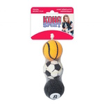 KONG DOG SPORT BALLS ASSORTED 3 PACK MEDIUM