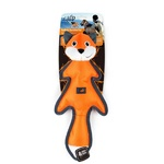 Dog Toy Ballistic Rumber Fox with Squeaker