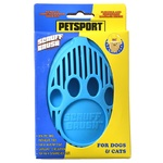 Petsport Rubber Scruff Brush for Dogs and Cats