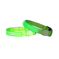 DOGlite LED Dog Collar - Green Glow