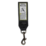Landing Strip Safety Belt Clip Black