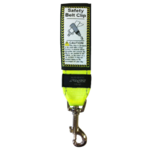Landing Strip Safety Belt Clip Fluoro Yellow