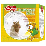 Living World Exercise Ball with Stand - Medium (17cm) - Mice & Rats