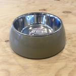 Diva Coffee Pet Bowl with Stainless Steel Bowl Insert 22cm