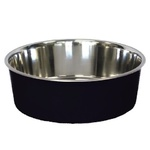 Bella Stainless Steel Pet Bowl 21cm Black