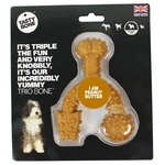Tasty Bone Nylon Trio Peanut Butter Small
