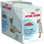 Royal Canin Cat Ultra Light Cat Food in Gravy 85g 12 Pack