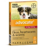 Advocate for Dogs 10-25kg - Red 6 Pack