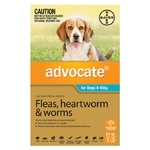 Advocate for Dogs 4-10kg - Teal 3 Pack