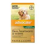 Advocate for Puppies and Small Dogs 0-4kg - Green 3 Pack