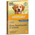 Advocate for Dogs Over 25kg - Blue 1 Pack