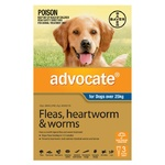 Advocate for Dogs Over 25kg - Blue 3 Pack