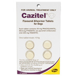 Cazitel Allwormer for Dogs 10kg 4pk