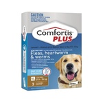 Comfortis Plus Brown Very Large Dog 3 Pack