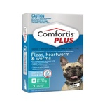 Comfortis Plus Green Medium Dog 3 Pack