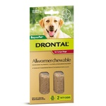 Drontal Allwormer Chewables for Large Dogs