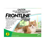 Frontline Plus for Cats Green 3pk