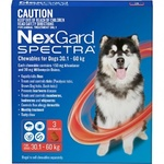 NexGard Spectra Very Large Dog (3 Pack) 30.1-60kg