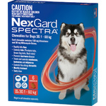 NexGard Spectra Very Large Dog (6 Pack) 30.1-60kg
