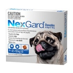 Nexgard Medium 4.1-10kg 6pk (Blue)