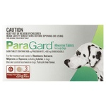Paragard Allwormer for Dogs 20kg 3 Tablets