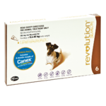 Revolution for Small Dogs 5-10kg (6 Pack Brown)