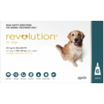 Revolution for Large Dogs 20-40kg (6 Pack Teal)