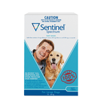Sentinel Spectrum Large Dogs 22 to 45kg 3 Pack Blue