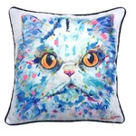 Tracey Keller Persian Cat Cushion