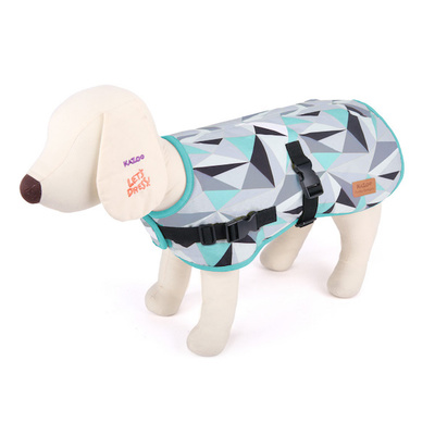 Dog Coat X-Small 33.5cm Funky Nylon - Abstract