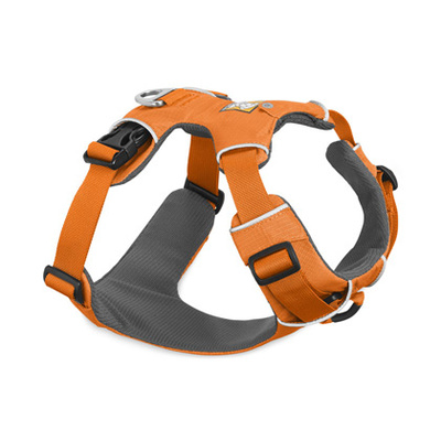 RUFFWEAR XX-Small Front Range Harness Orange Poppy