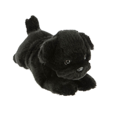 Puddles the Black Pug 28cm