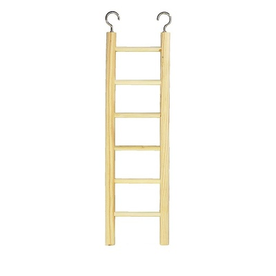 6 Step Wooden Bird Ladder