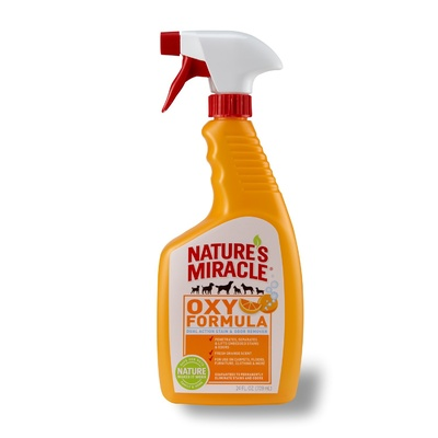 Natures Miracle Oxy Orange Dual Action Stain & Odour Remover 709ml