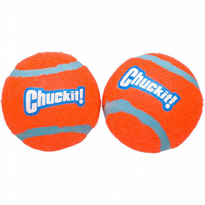 "Chuckit! Tennis Ball - Medium 6.4cm (2.5"") (2 pack)"