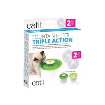 Catit Senses 2.0 Triple Action Replacement Filter (2pk)